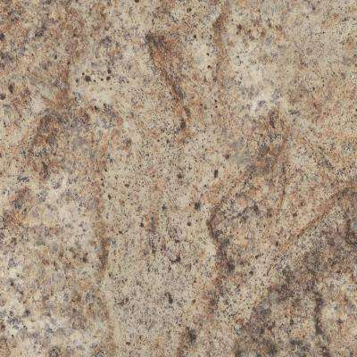 60 in. x 120 in. Laminate Sheet in Madura Gold with Premium Quarry Finish