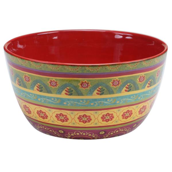 Certified International Tunisian Sunset Deep Serving Bowl