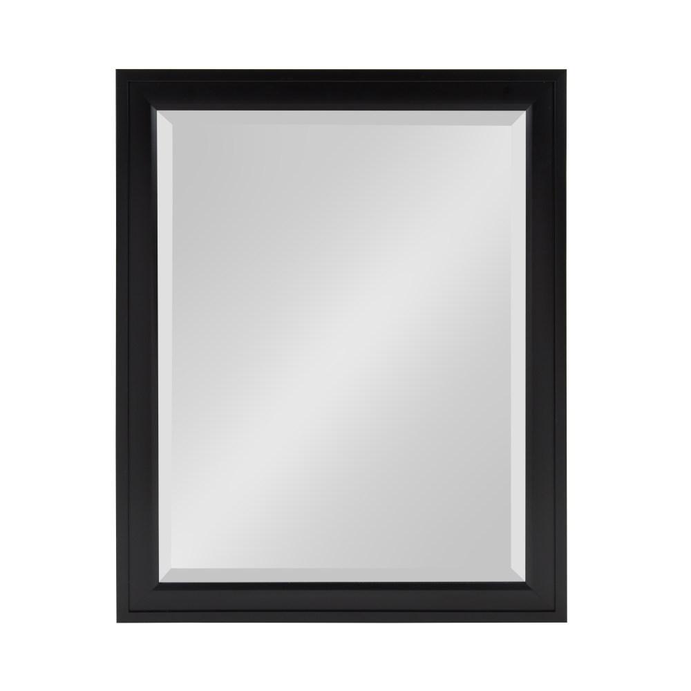 DesignOvation Bosc Rectangle Black Mirror