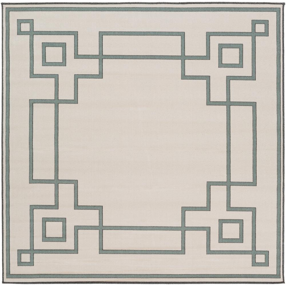 Versace Washable Rugs: Artistic Weavers Blanche Beige 7 Ft. X 7 Ft. Square Indoor