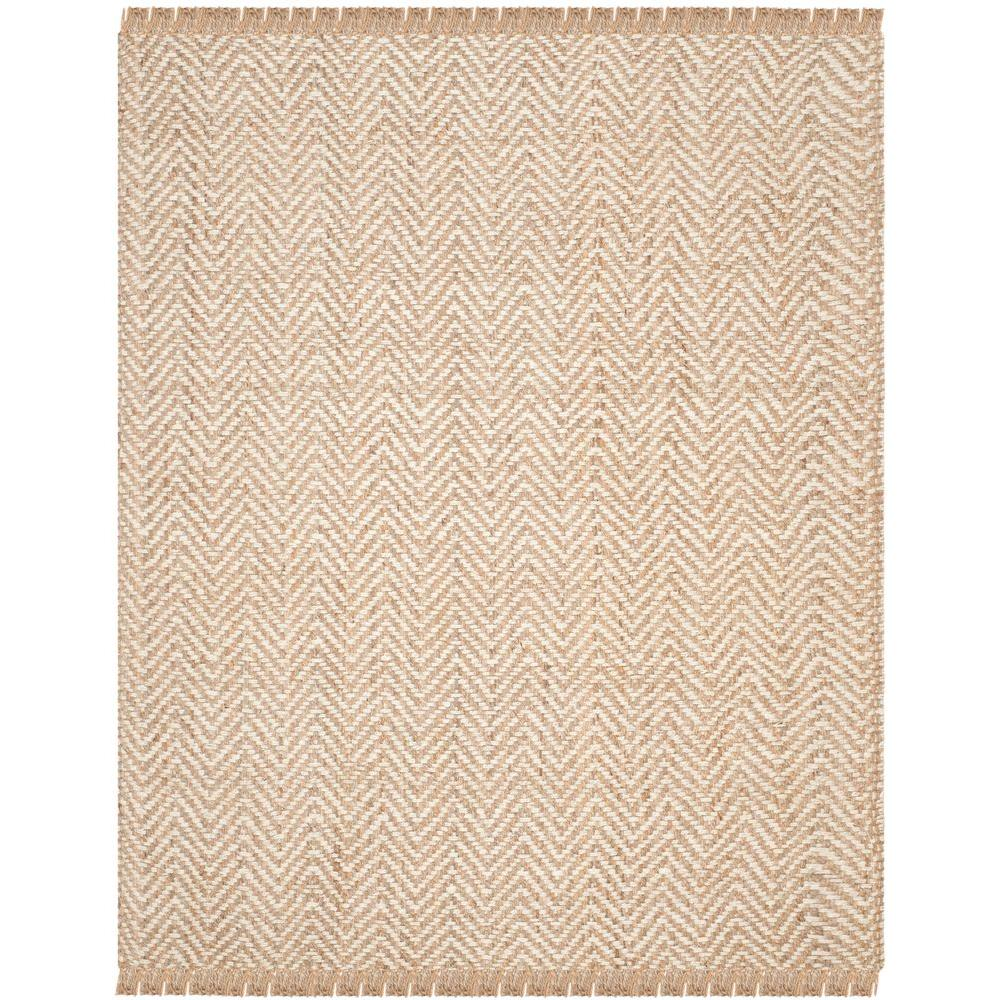 Safavieh Natural Fiber Bleach Beige 9 Ft X 12 Area Rug