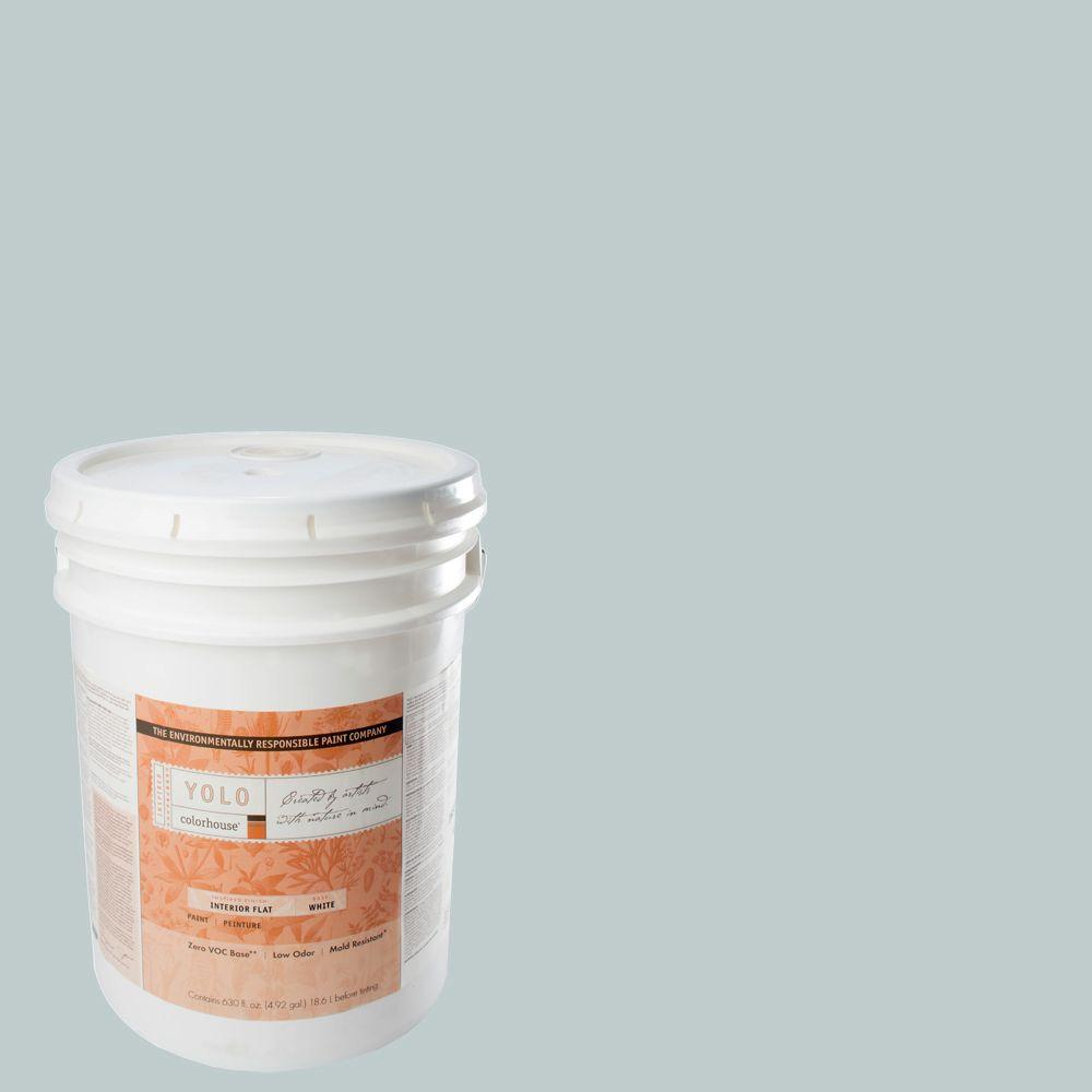 YOLO Colorhouse 5-gal. Wool .02 Flat Interior Paint-DISCONTINUED