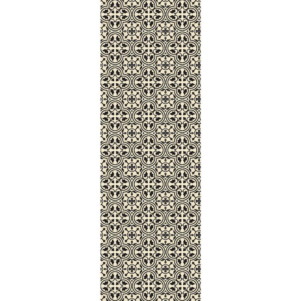 Aspen Brands Quad European Design 2ft X 6ft Black Amp White