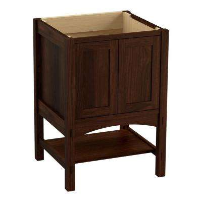 Marabou 24 in. Vanity Cabinet Only in Ramie Walnut