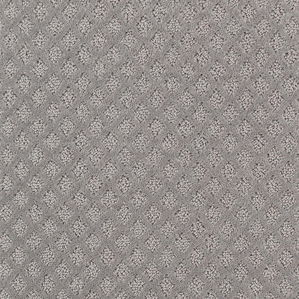 Bradlow - Color Mineral Ash Pattern 12 ft. Carpet