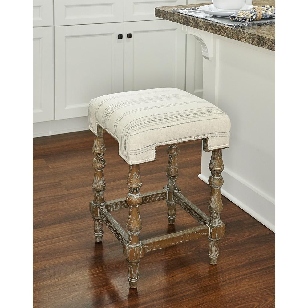 Pleasing Linon Home Decor Rosa Backless 24 In Counter Stool Thd00722 Machost Co Dining Chair Design Ideas Machostcouk