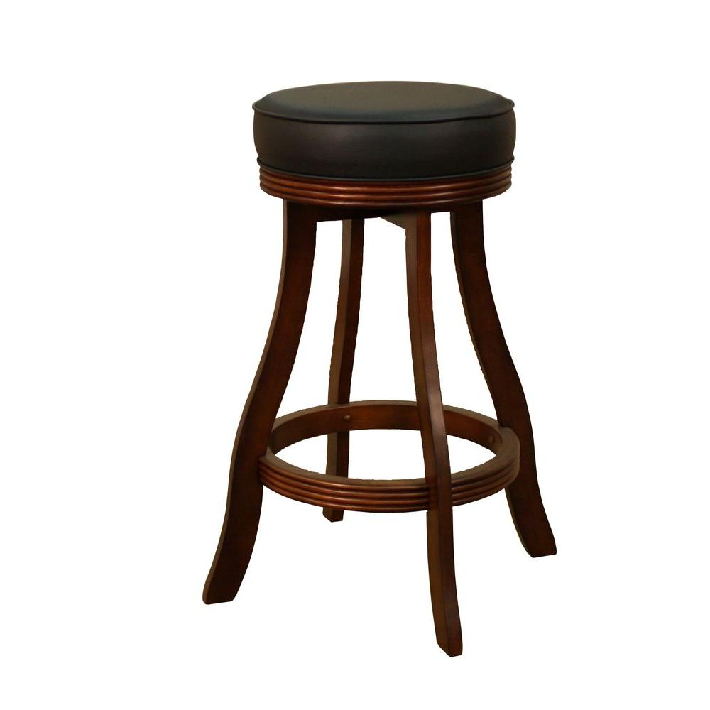 American Heritage Designer 31 in. Suede Cushioned Bar Stool