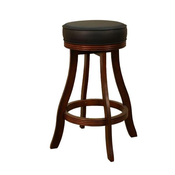 American Heritage Designer 31 in. Suede Cushioned Bar Stool 106606SD