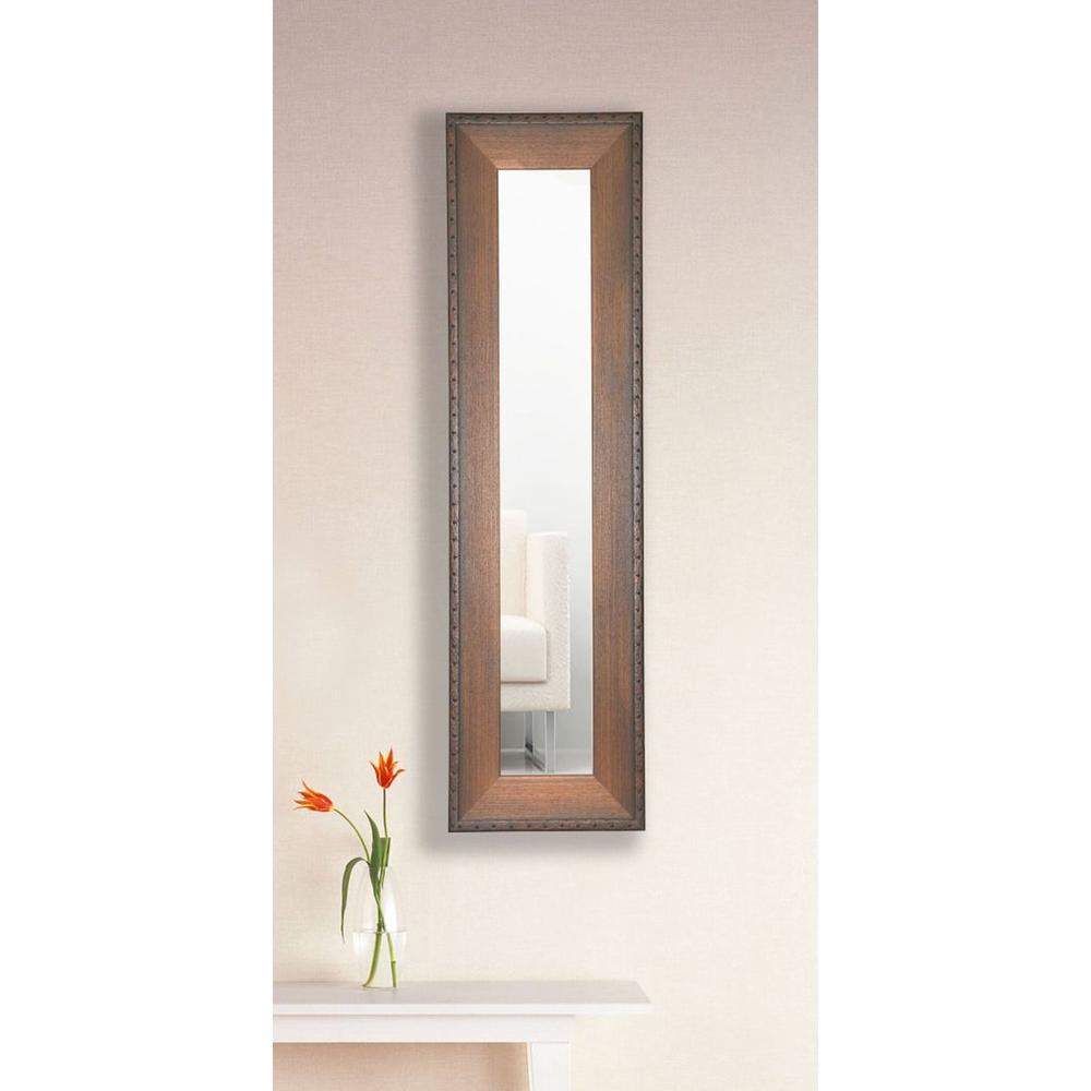 9.5 in. x 21.5 in. Timber Estate Vanity Mirror Single Panel