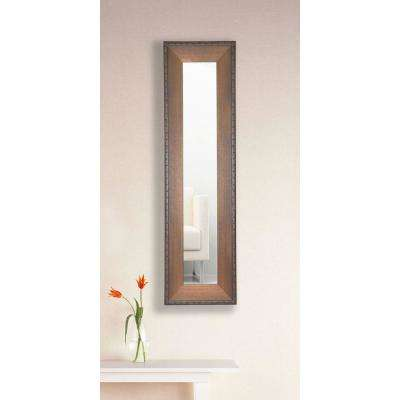 9.5 in. x 21.5 in. Timber Estate Vanity Mirror Single Panel