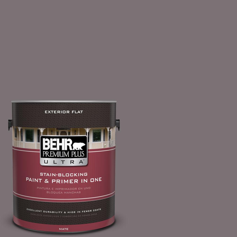 BEHR Premium Plus Ultra 1-Gal. #PPU17-18 Echo Flat Exterior Paint