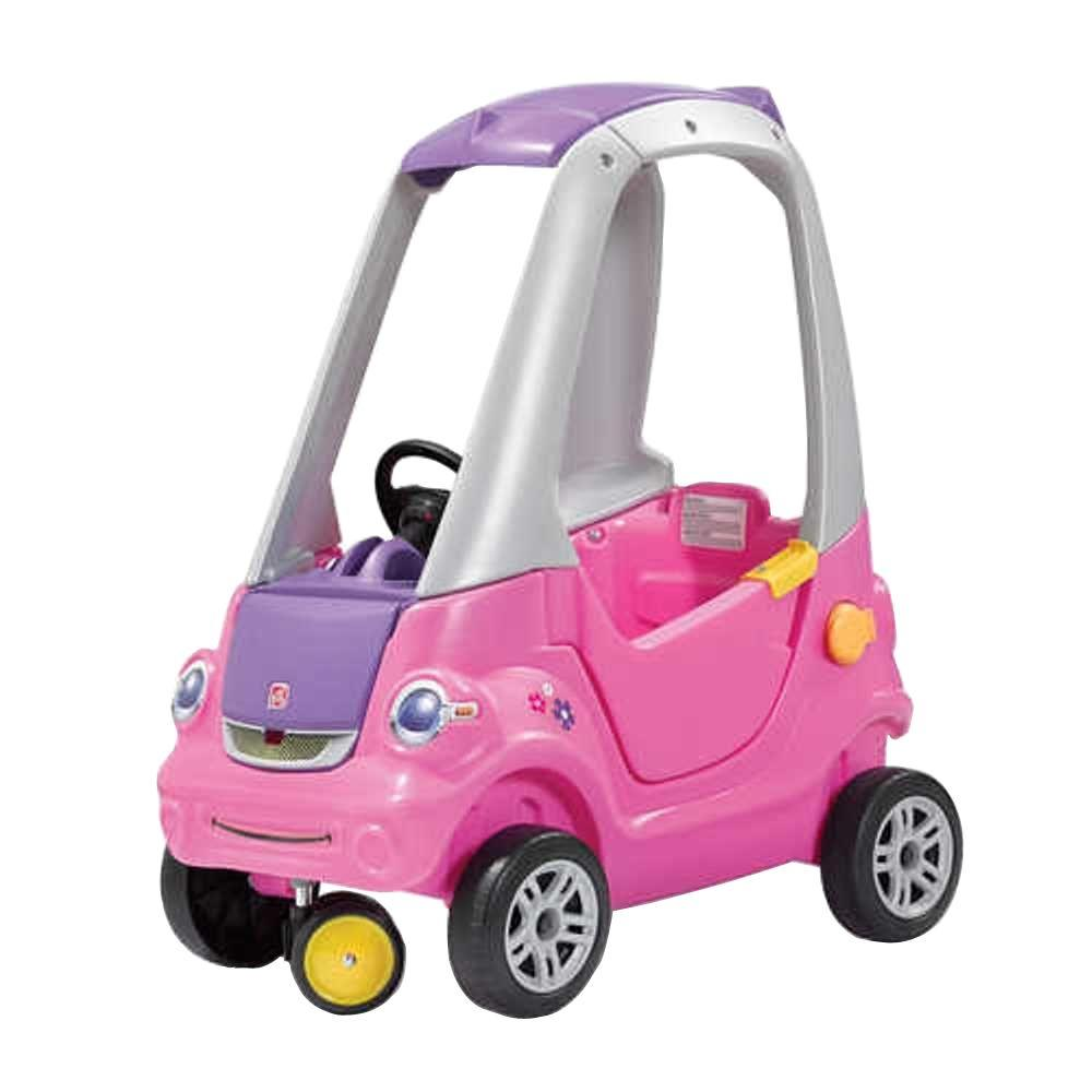 Step2 Easy Turn Coupe in Pink-845300 - The Home Depot