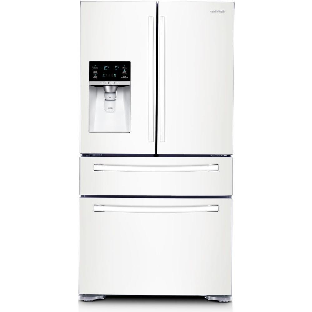 Samsung 29.7 cu. ft. French Door Refrigerator in White