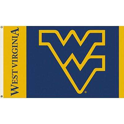 NCAA West Virginia University 3 ft. x 5 ft. Collegiate 2-Sided Flag with Grommets