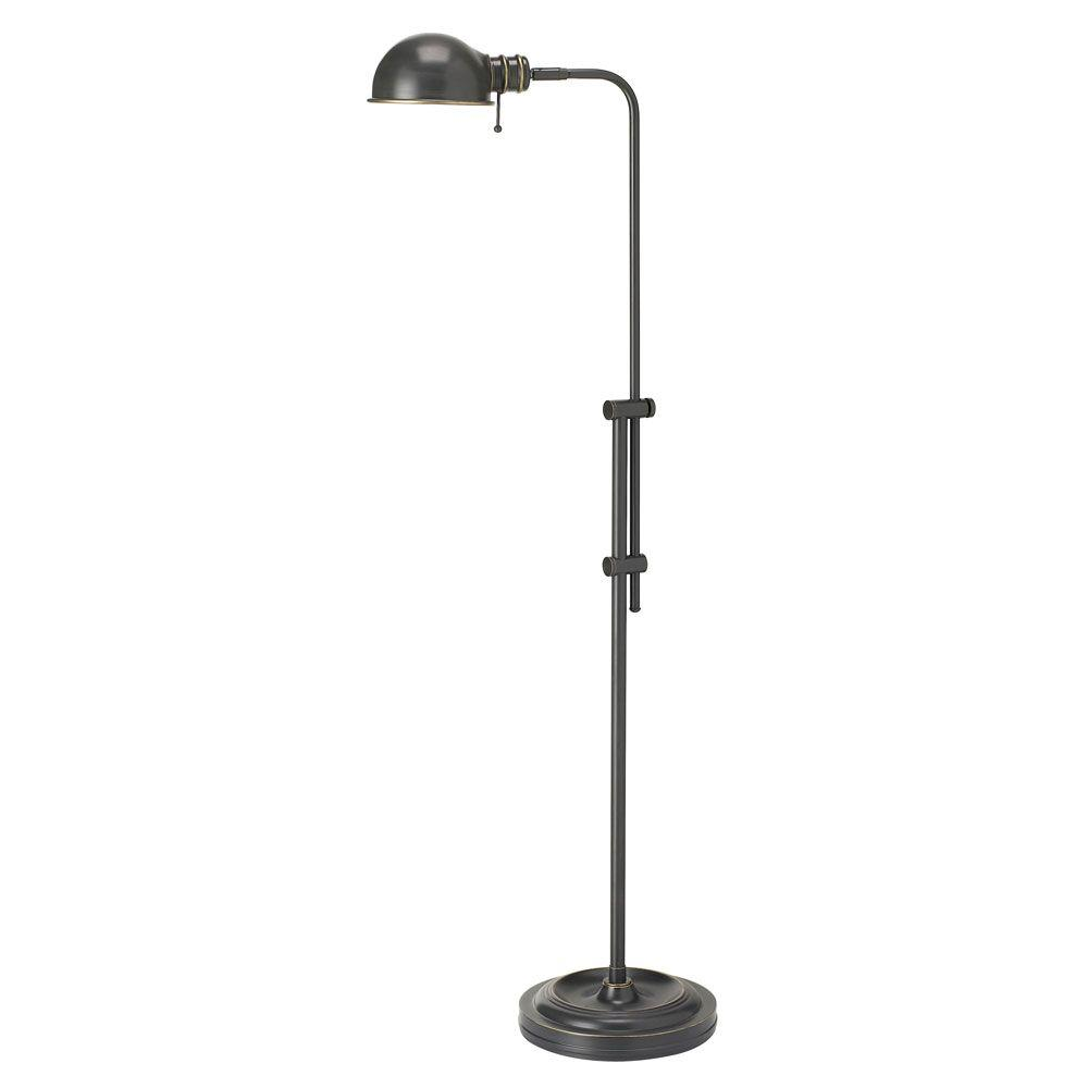Catherine 58 in. Oil-Brushed Bronze Floor Lamp