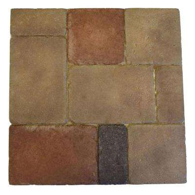 Monterey Naples Project Pack 18 in. x 18 in. Thin Overlay Paver (96-Pieces/216 sq. ft. per Pallet)