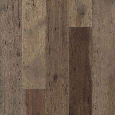 Take Home Sample - Big Sky Collection Heirloom Hickory Engineered Hardwood Flooring - 5 in. x 7 in.