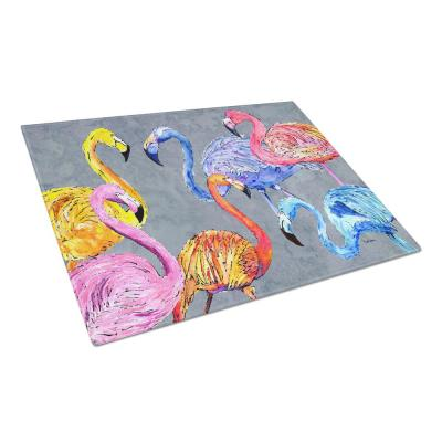 Flamingo 6-Senses Tempered Glass Large Cutting Board