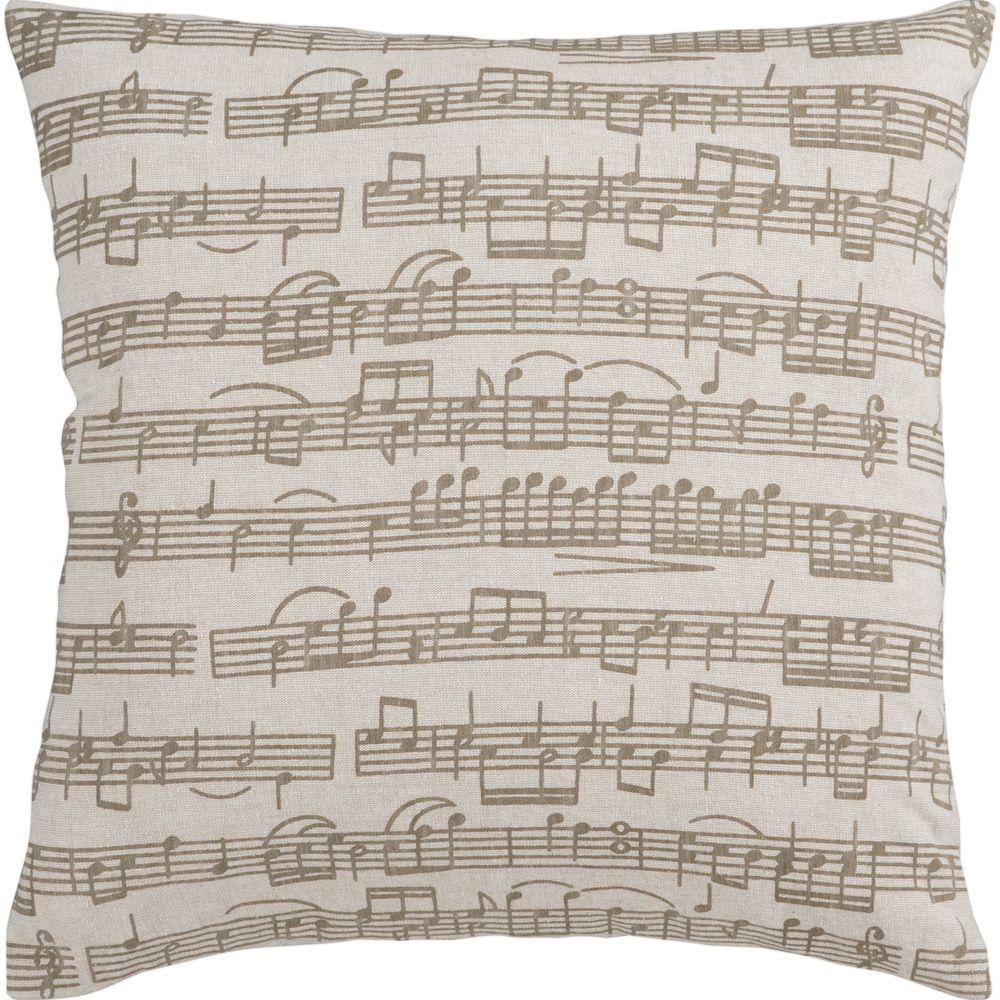 Artistic Weavers Music 18 in. x 18 in. Decorative Down Pillow-DISCONTINUED