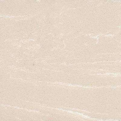 4 in. x 4 in. Vanity Top Sample Chip in Crema Limestone