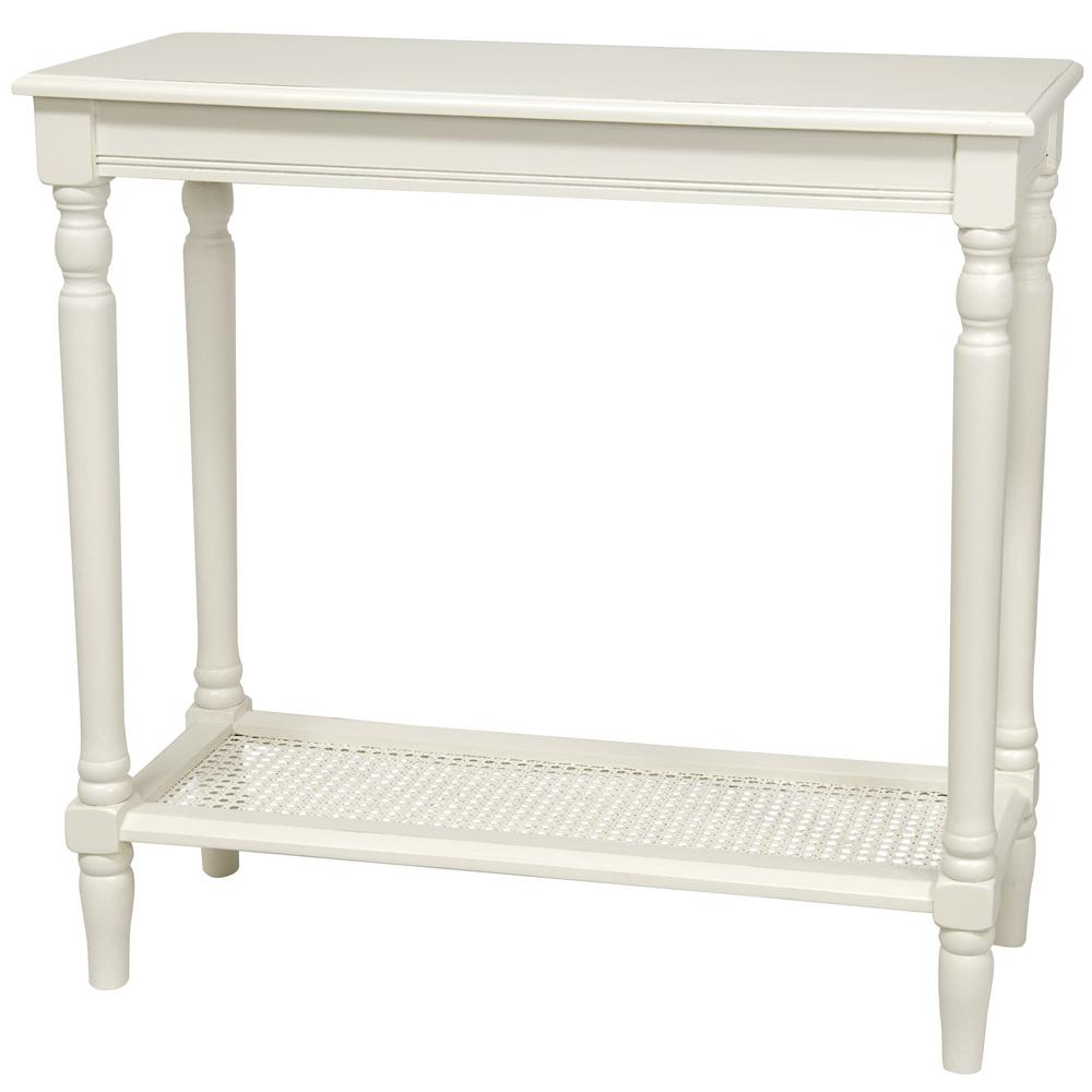 end in style modern white wood accent round rustic rococo table products