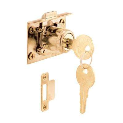 1.5 in. Spring Loaded Drawer and Cabinet Lock Mortise