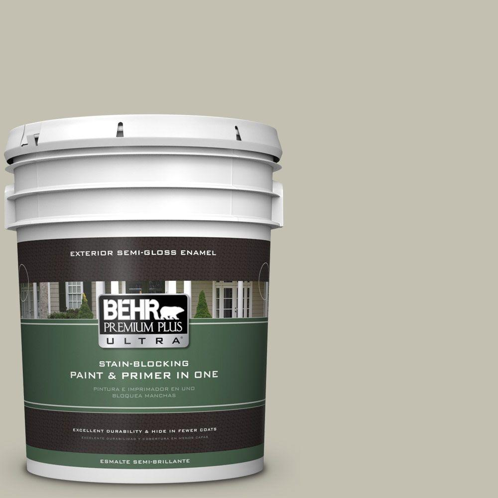 5-gal. #N350-3 Biking Trail Semi-Gloss Enamel Exterior Paint