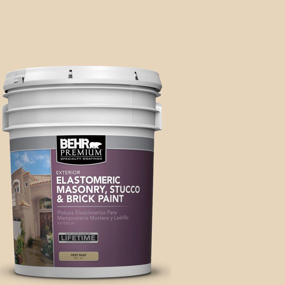 5 gal. #MS-20 Hacienda Elastomeric Masonry, Stucco and Brick Exterior Paint