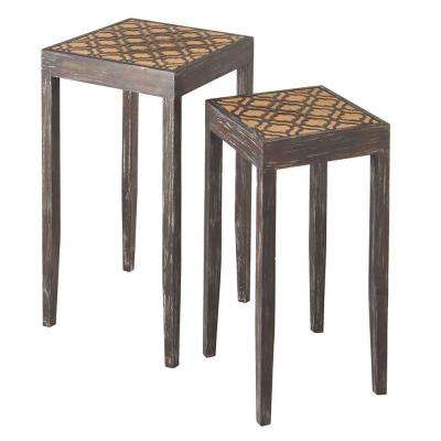 Sundry Brown Side Table (Set of 2)