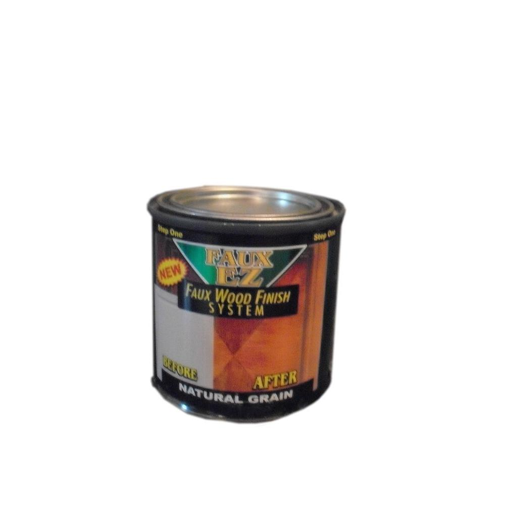 Faux EZ Natural Wood Grain Cabinet Paint 8 oz. Natural Grain Faux ...