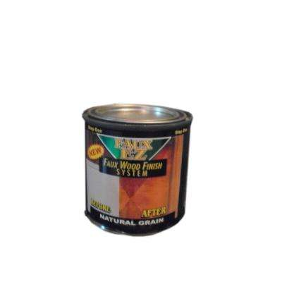 Natural Wood Grain Cabinet Paint 8 oz. Natural Grain Faux Wood Cabinet Refinishing Step One Base Coat