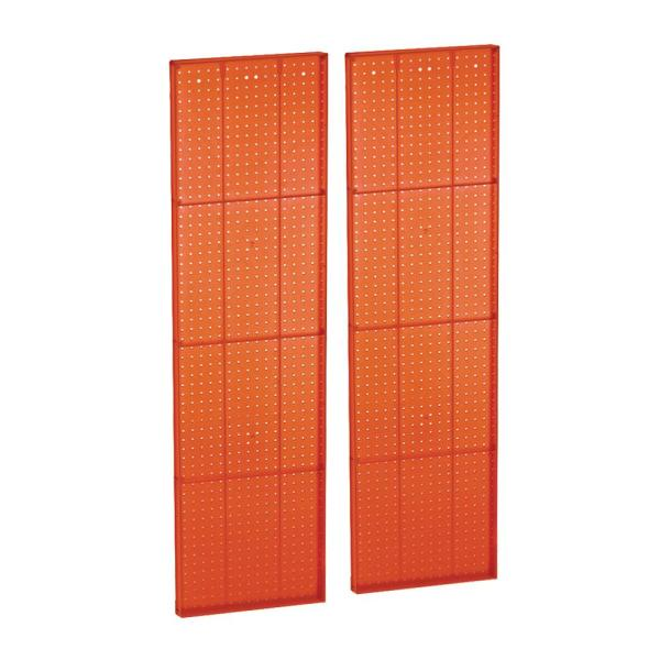 60 In X 13 5 In H Pegboard Purple Styrene One Sided Panel 2 Pieces Per Box 771360 Pur The Home Depot