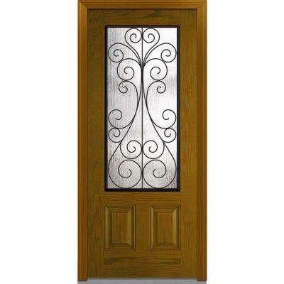 2 Panel Fiberglass Doors Front Doors The Home Depot