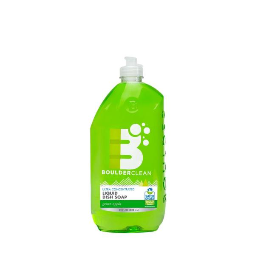 28 oz. Green Apple Clean Natural Liquid Dish Soap