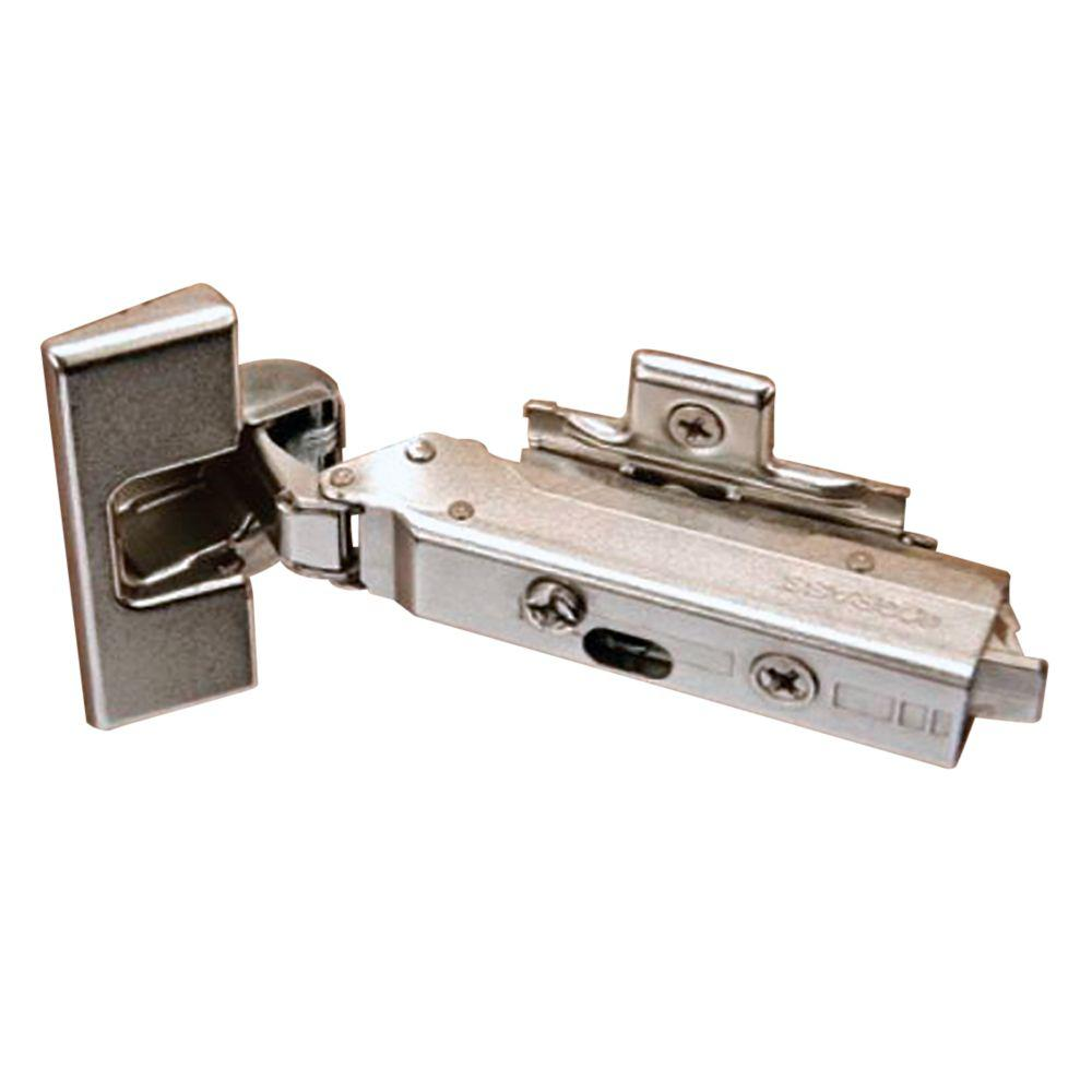 35 mm 110-Degree Full Inset Soft Close Hinge (1-Pair)