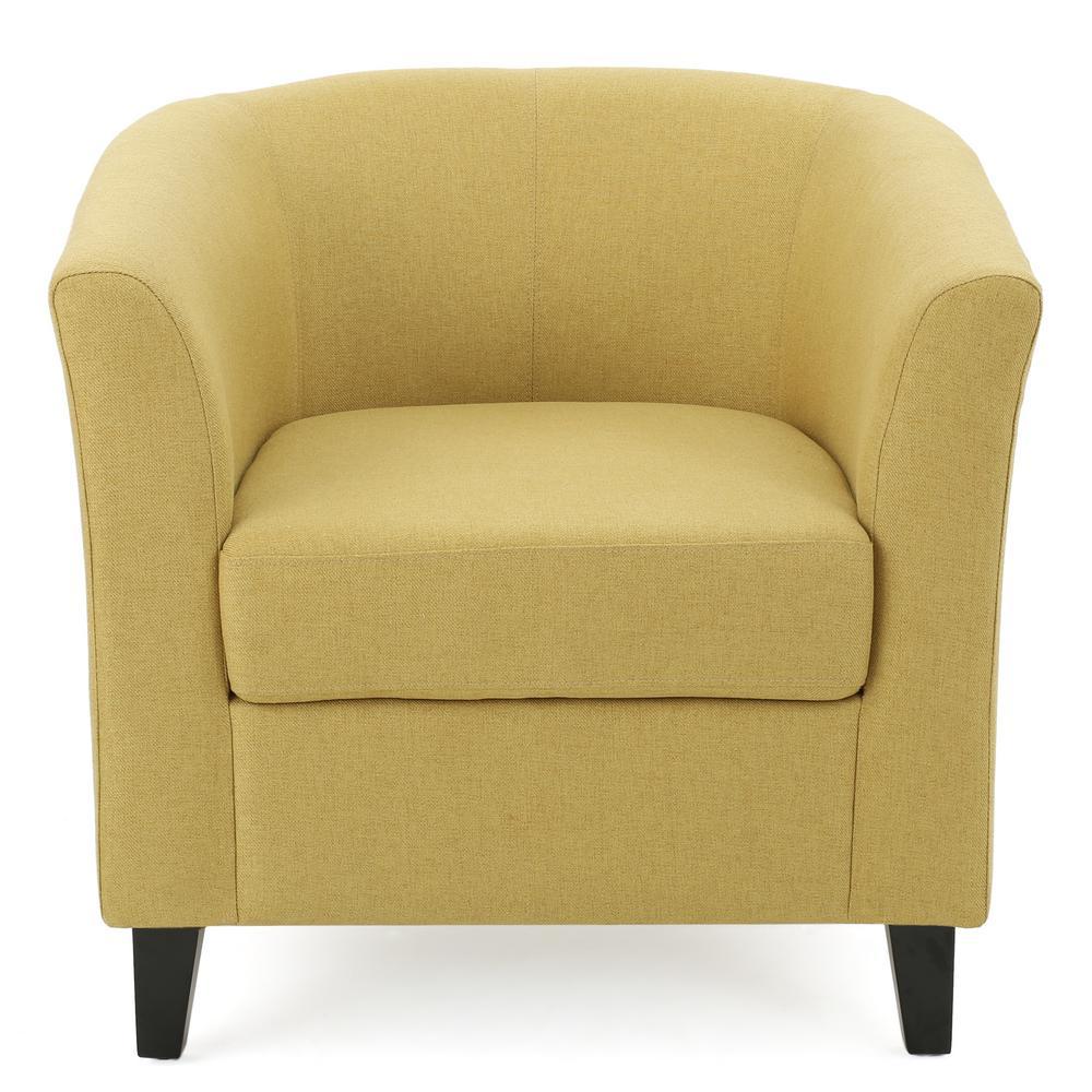 Preston Light Green Fabric Club Chair