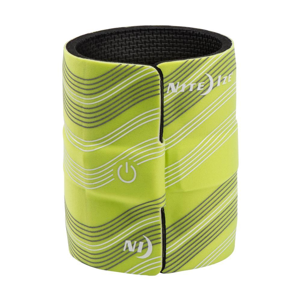 SlapLit LED Drink Wrap, Green