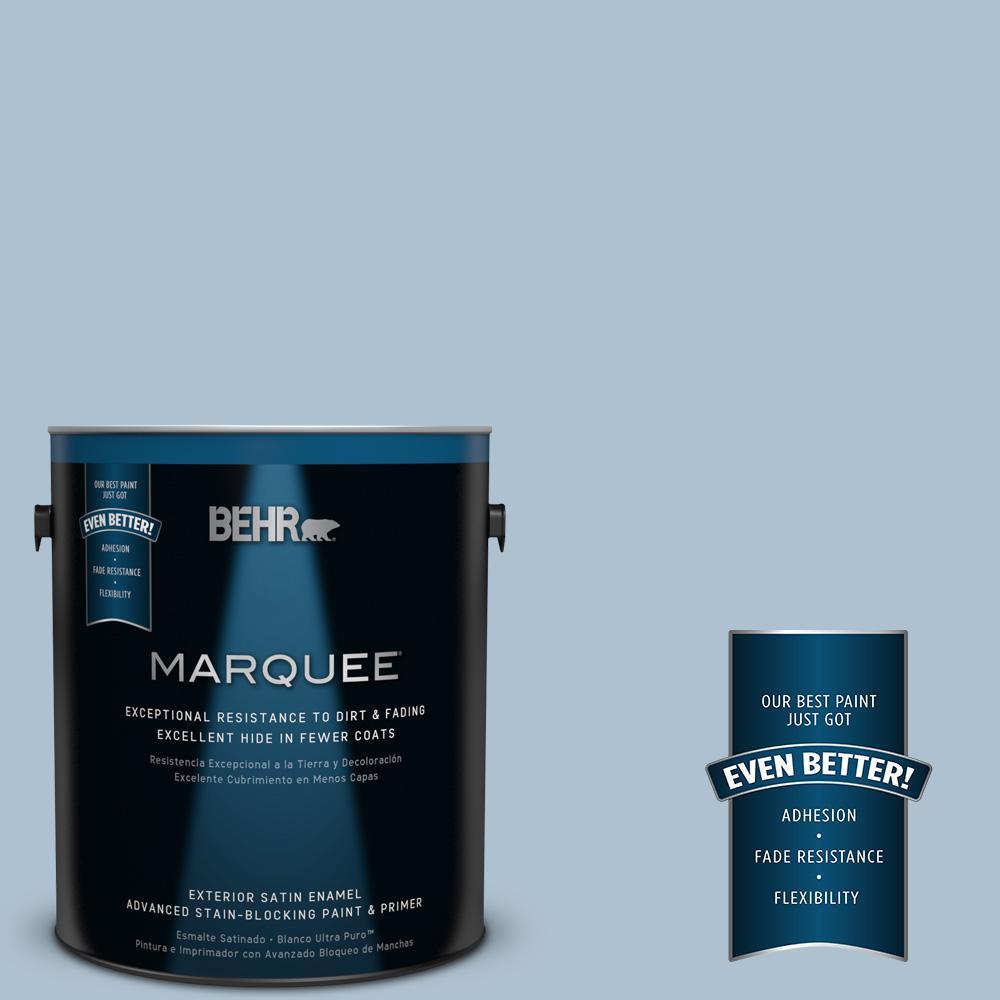 BEHR MARQUEE 1-gal. #S510-2 Boot Cut Satin Enamel Exterior Paint