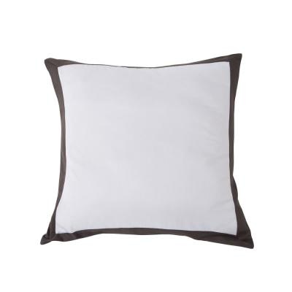 Vicki Silver-Black Pillow Cover