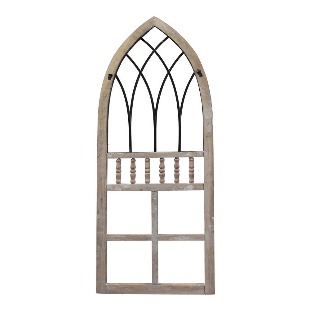 Stratton Home Decor Rustic Arch Panel