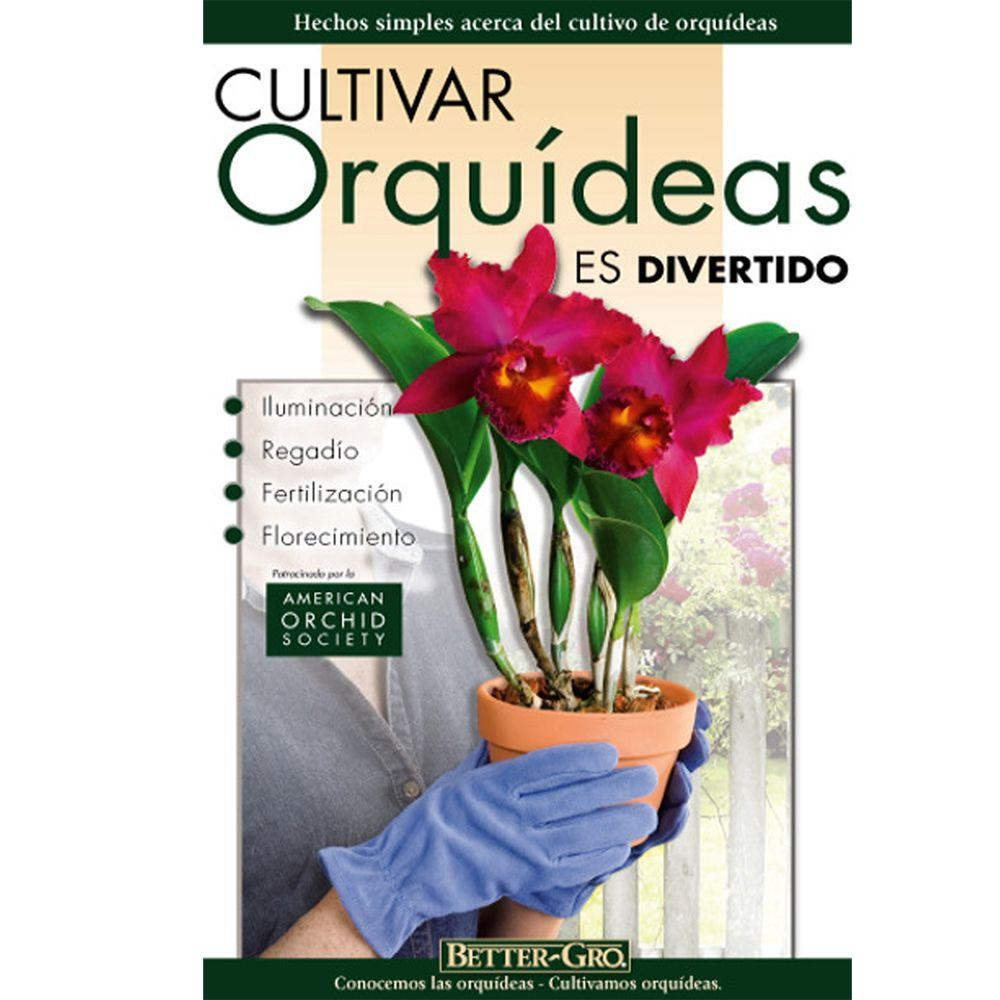 Growing Orchids is Fun Spanish Edition