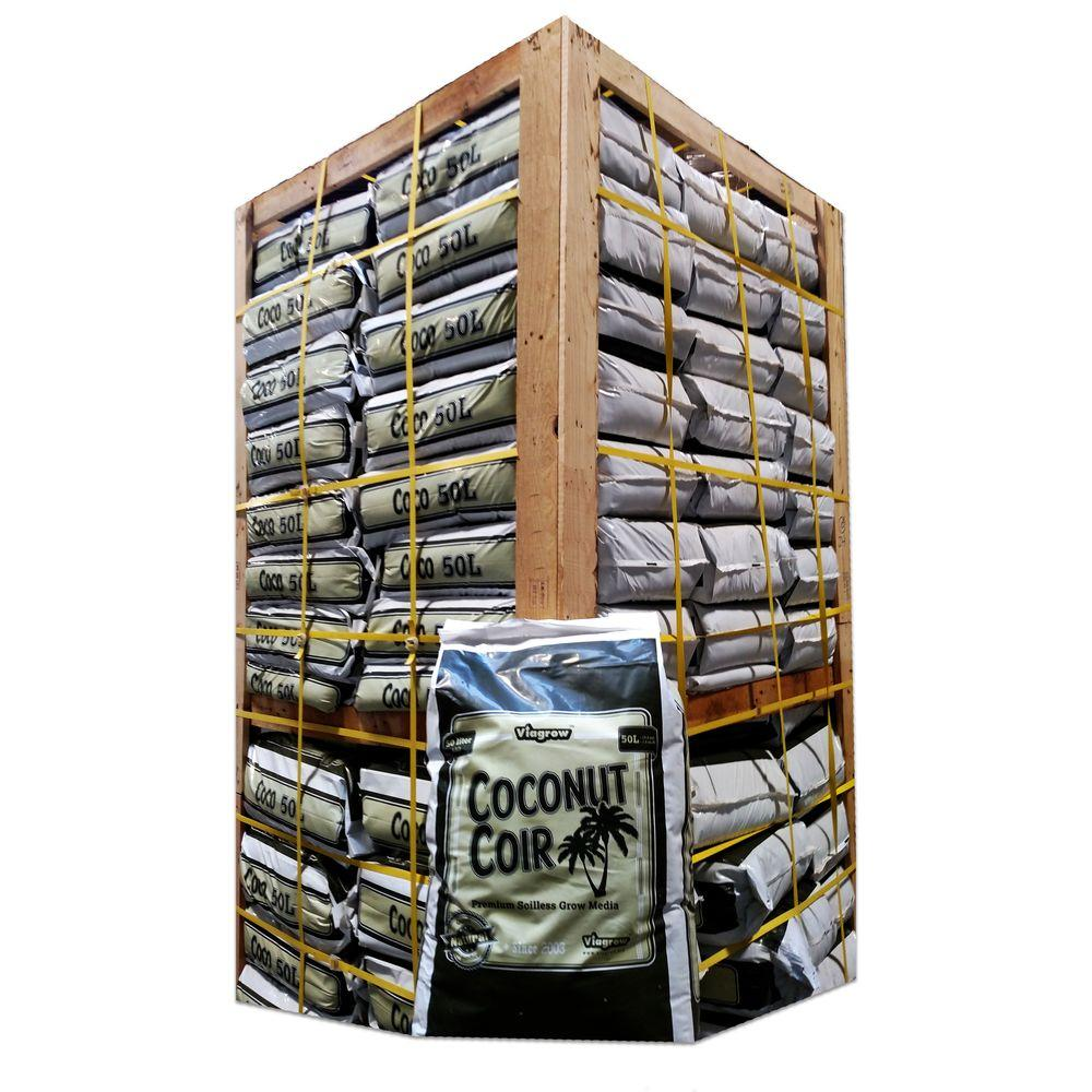 1.5 cu. ft. Coconut Coir Soilless Grow Media Bag (65 Bag