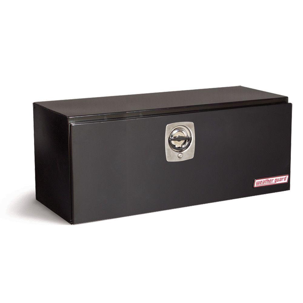 48.12 in. Steel Underbed Box in Black