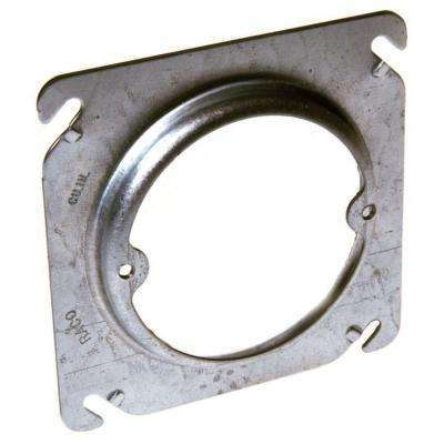 4 in. Square Fixture Cover, Raised 3/4 in. (25 Pack)