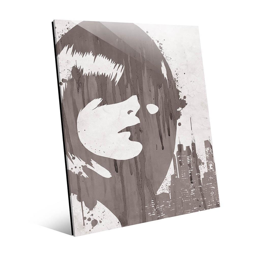 Creative Gallery 11 in. x 14 in. ''Drippy City Girl Grey''