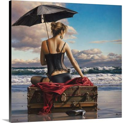 """On the Edge of the World"" by Paul Kelley Canvas Wall Art"