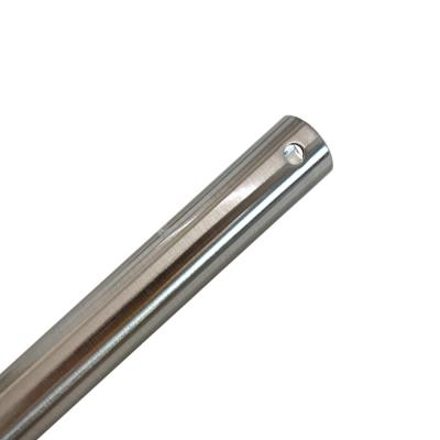 60 in Brushed Nickel Extension Downrod for 15 ft. ceilings