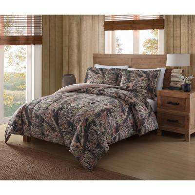 Mount Monadnock Camo King Comforter Mini Set
