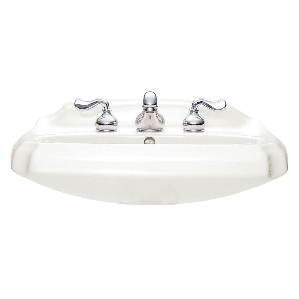 Amazing American Standard Antiquity Pedestal Sink Basin In White