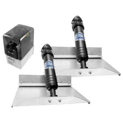 12 in. x 9 in. Hydraulic Trim Tab Set without Controls